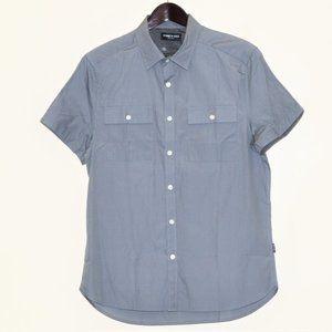 NWT Kenneth Cole 100% Cotton Slim Fit Shirt M